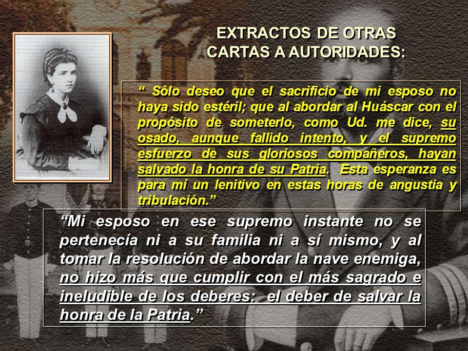 EXTRACTOS DE OTRAS CARTAS A AUTORIDADES: