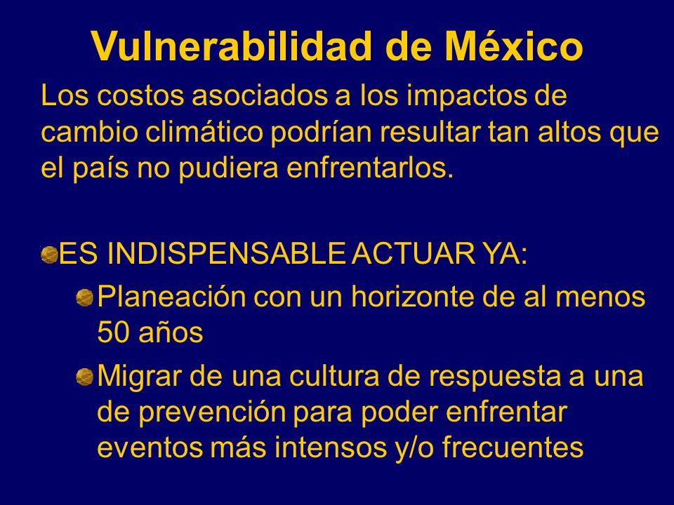 Vulnerabilidad de México