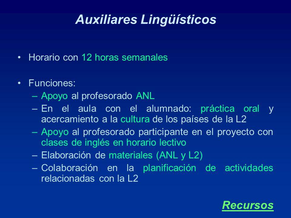 Auxiliares Lingüísticos