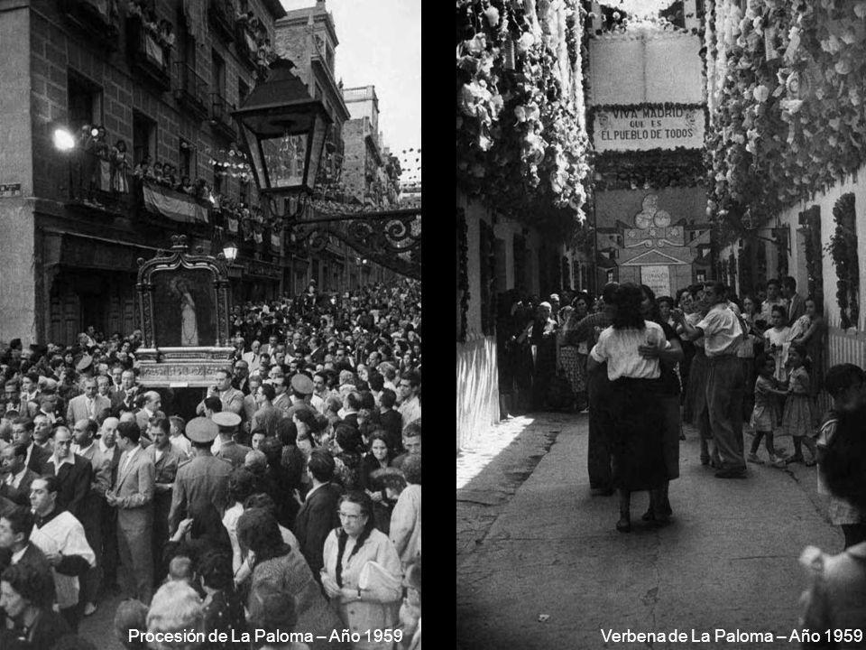 Procesión de La Paloma – Año 1959