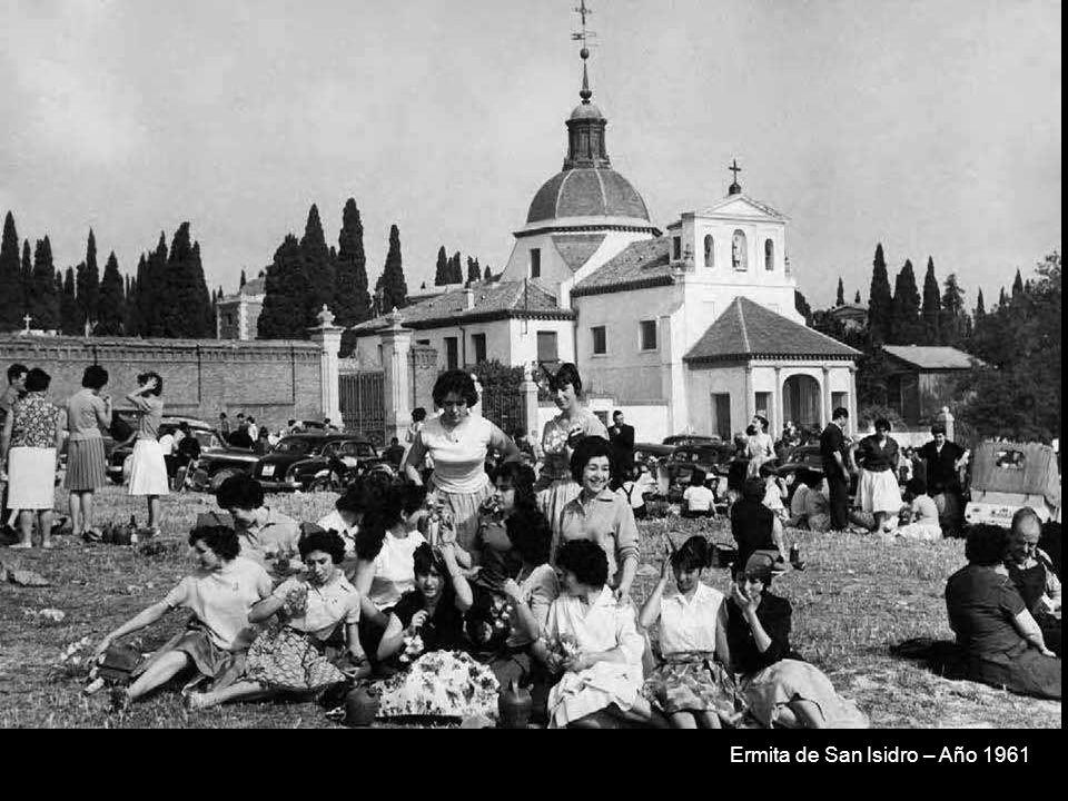 Ermita de San Isidro – Año 1961