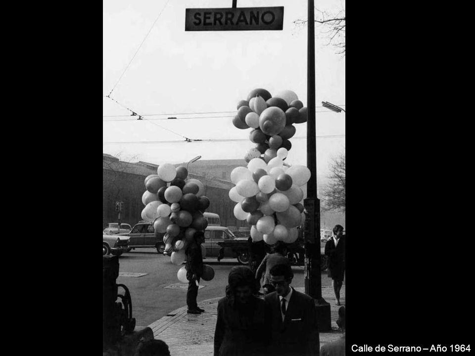 Calle de Serrano – Año 1964