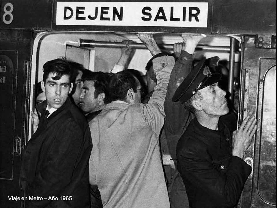 Viaje en Metro – Año 1965