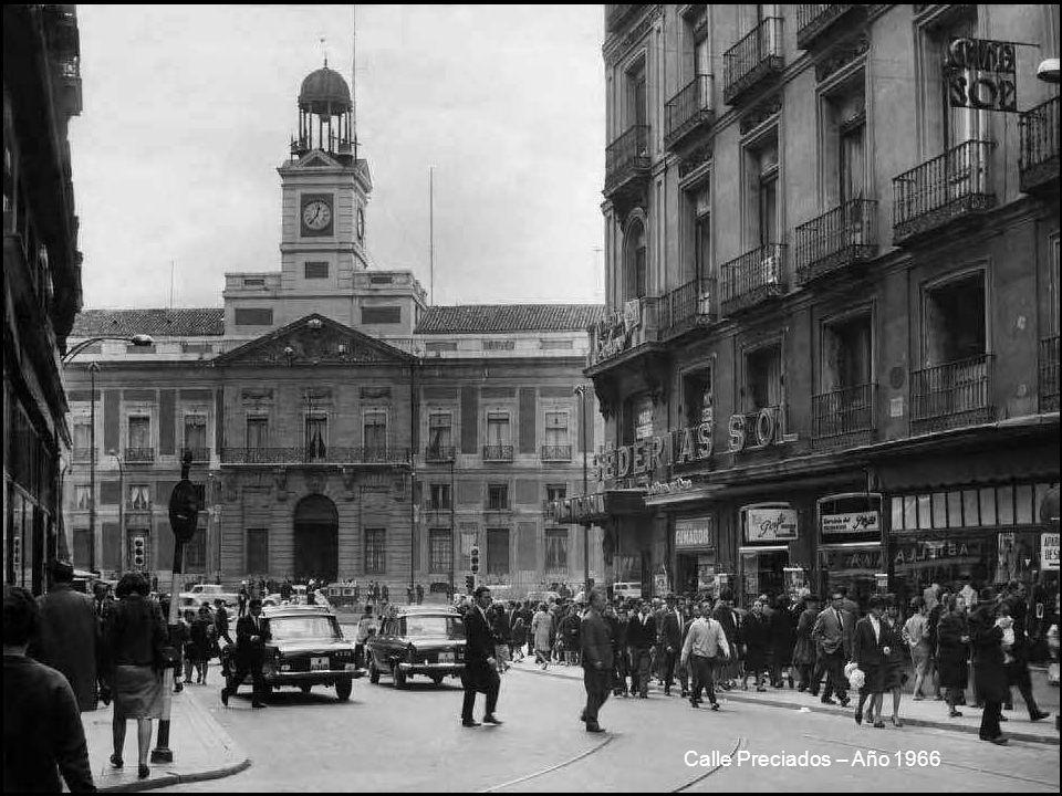 Calle Preciados – Año 1966
