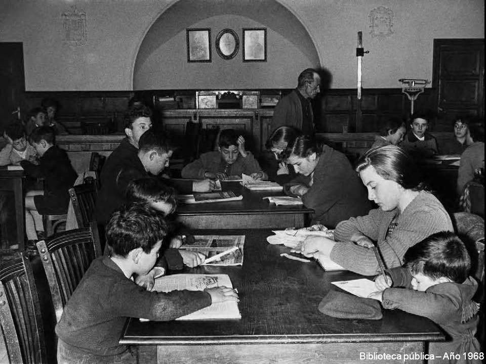 Biblioteca pública – Año 1968