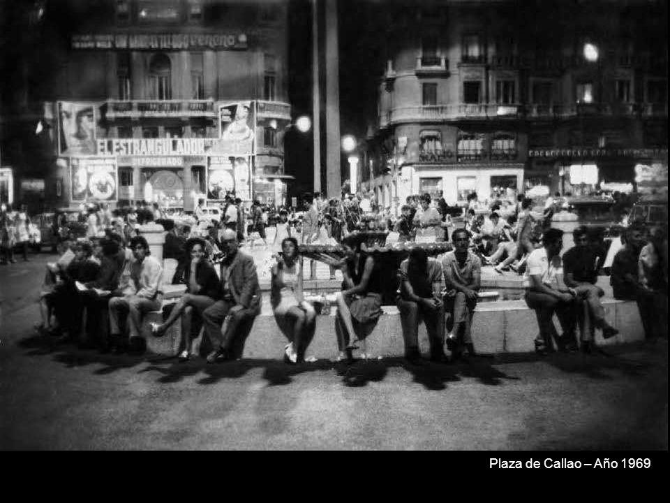 Plaza de Callao – Año 1969