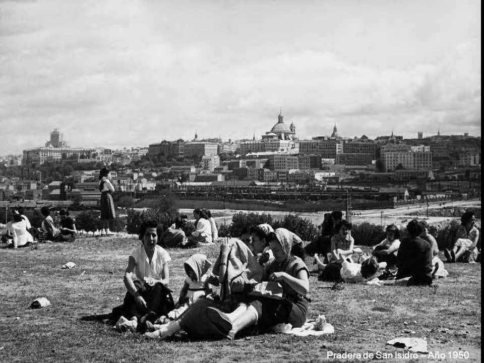 Pradera de San Isidro – Año 1950