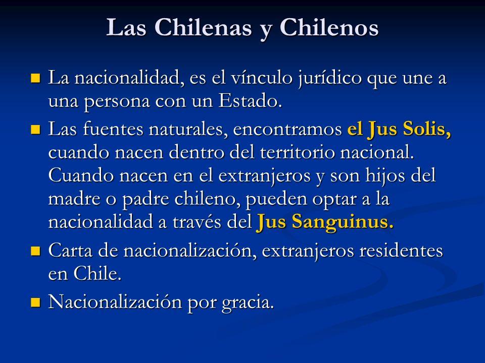 Las Chilenas y Chilenos