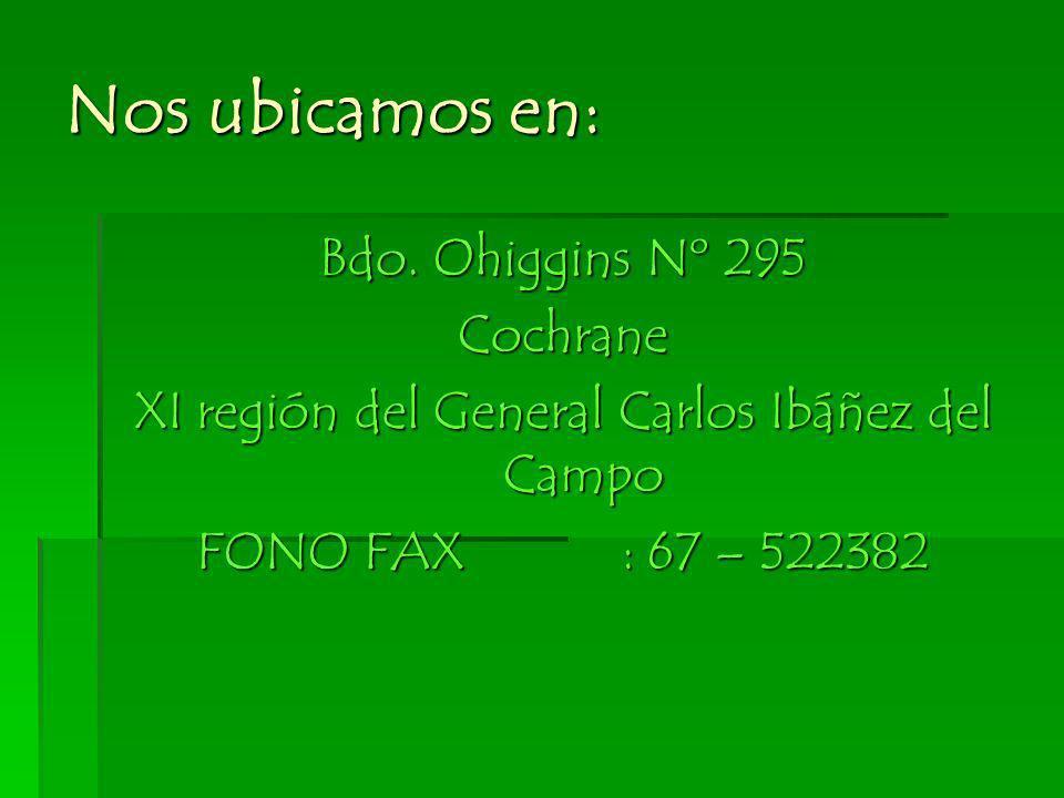 XI región del General Carlos Ibáñez del Campo