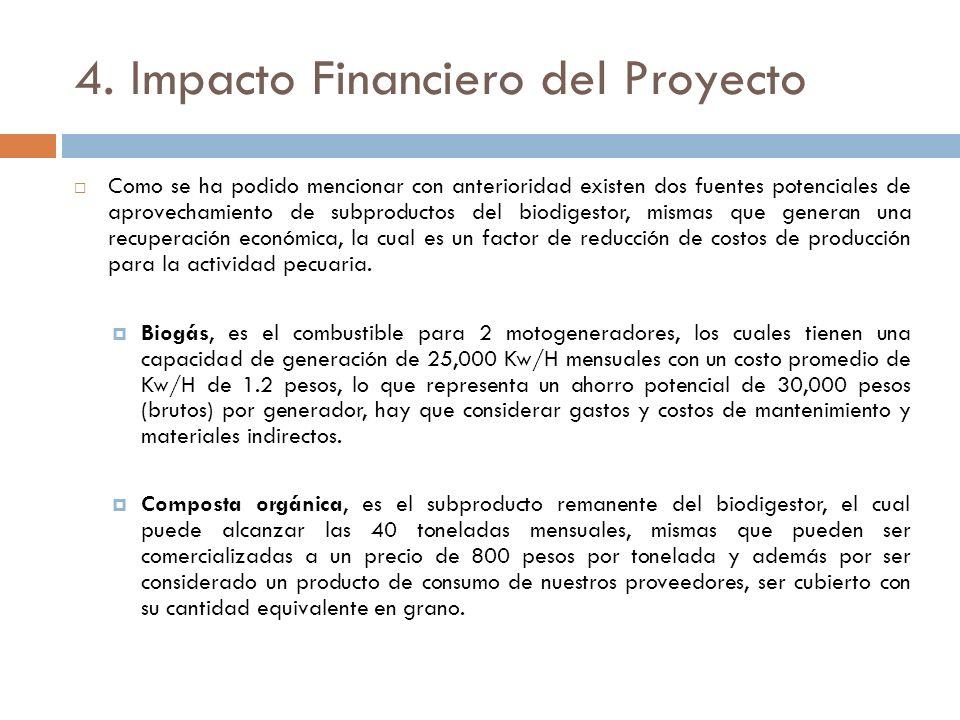 4. Impacto Financiero del Proyecto