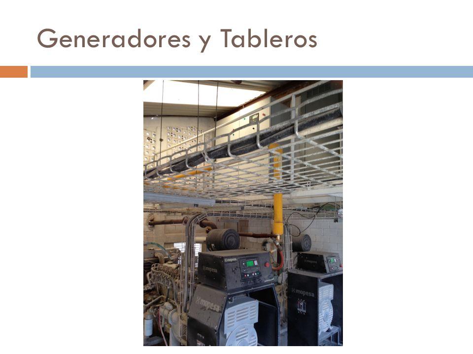 Generadores y Tableros
