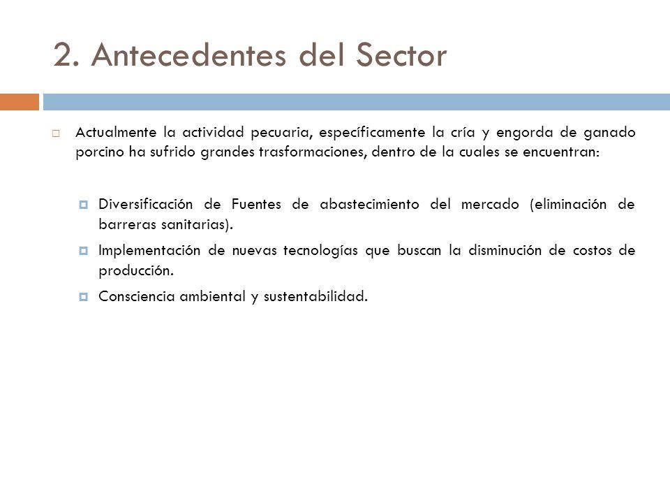 2. Antecedentes del Sector