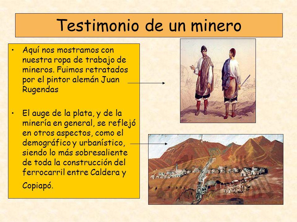 Testimonio de un minero