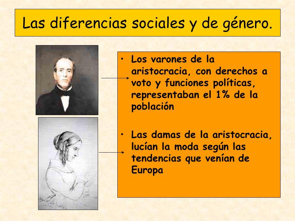 Las diferencias sociales y de género.