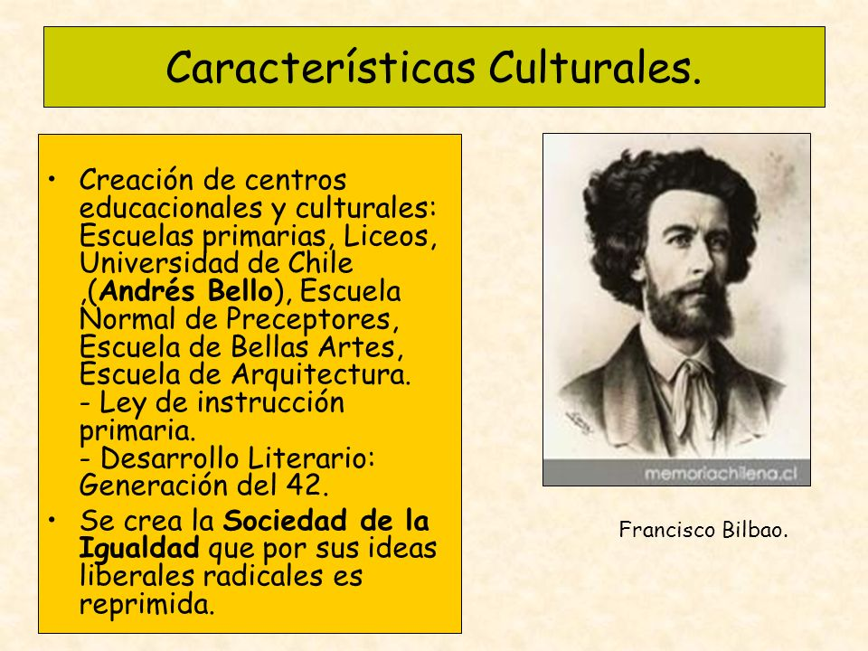 Características Culturales.
