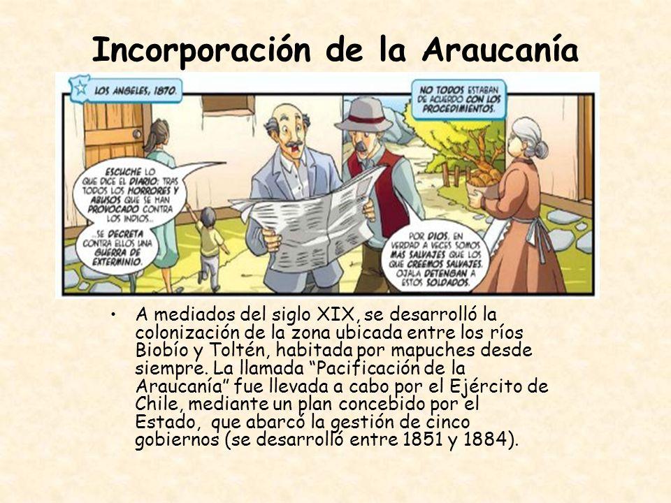 Incorporación de la Araucanía