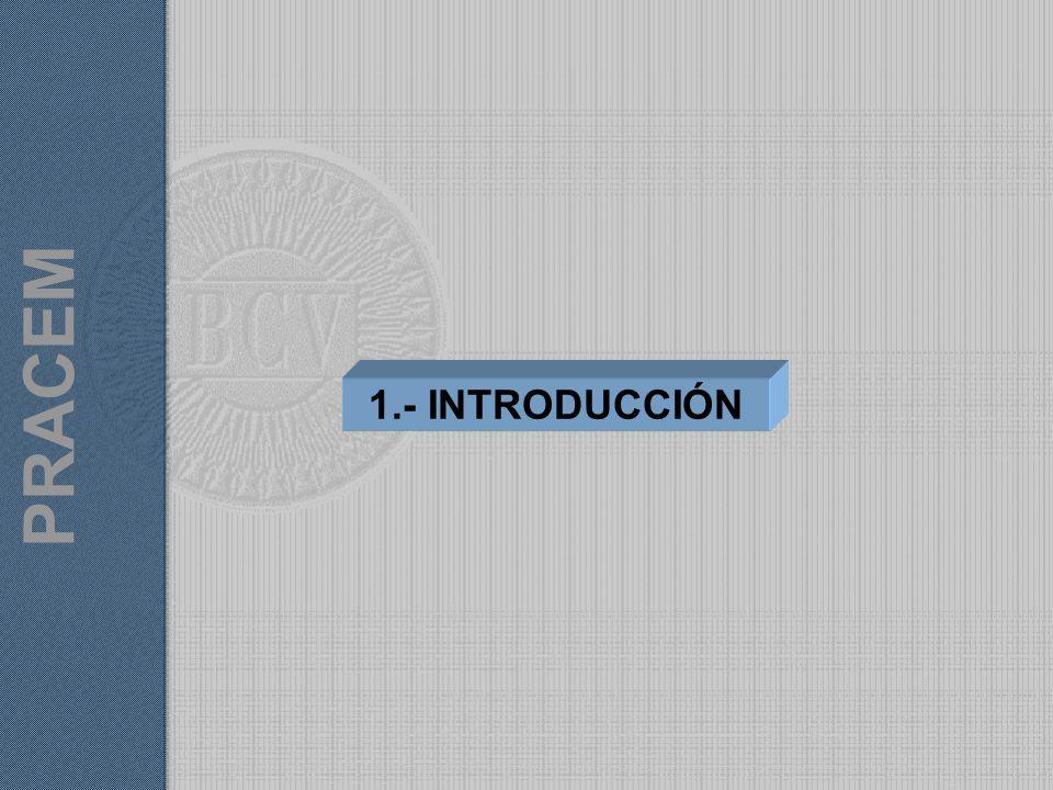 PRACEM 1.- INTRODUCCIÓN