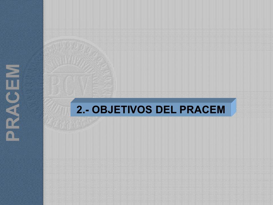 PRACEM 2.- OBJETIVOS DEL PRACEM