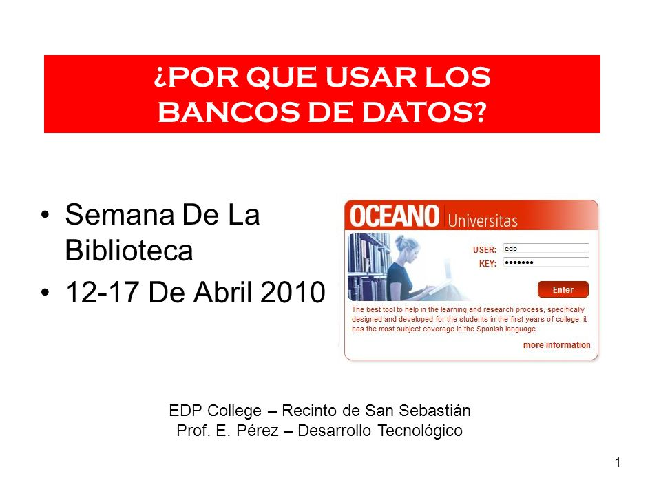 Semana De La Biblioteca 12-17 De Abril 2010