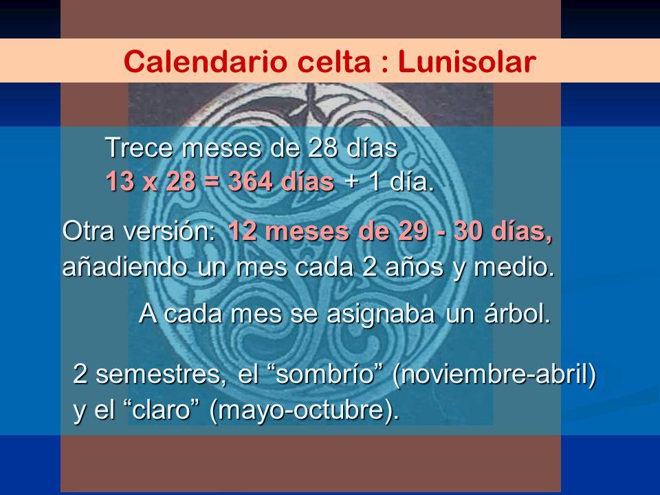 Calendario celta : Lunisolar