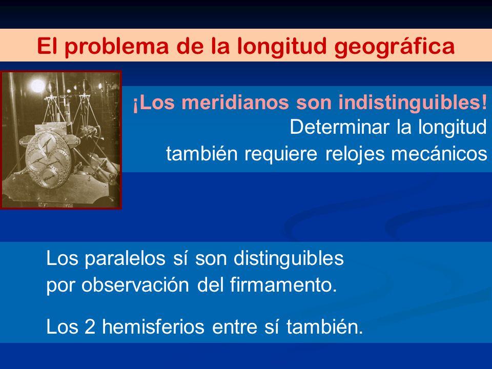 El problema de la longitud geográfica