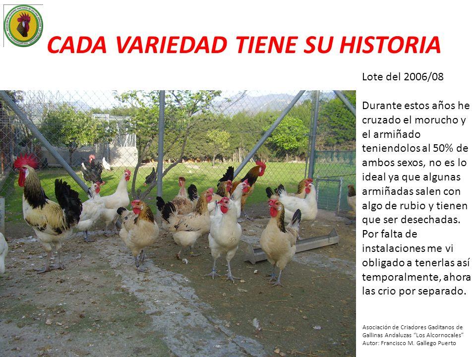 CADA VARIEDAD TIENE SU HISTORIA