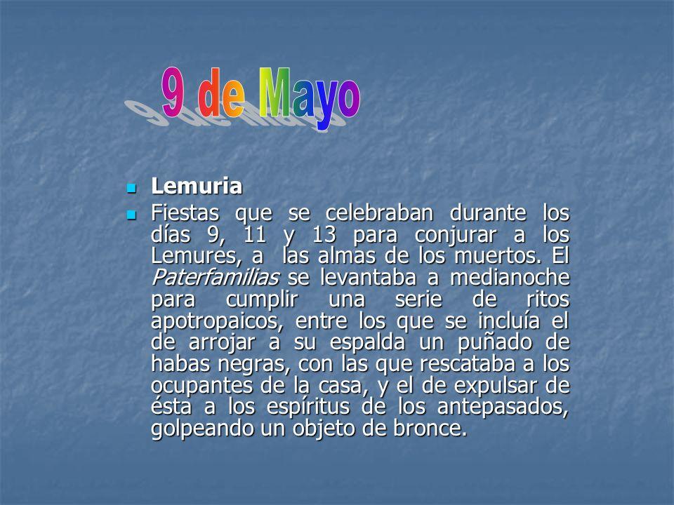 9 de Mayo Lemuria.