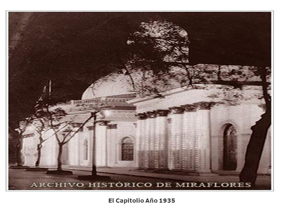 El Capitolio Año 1935.