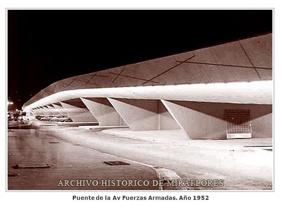 Puente de la Av Fuerzas Armadas. Año 1952