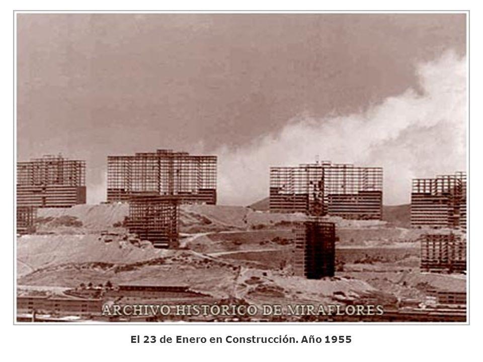 El 23 de Enero en Construcción. Año 1955