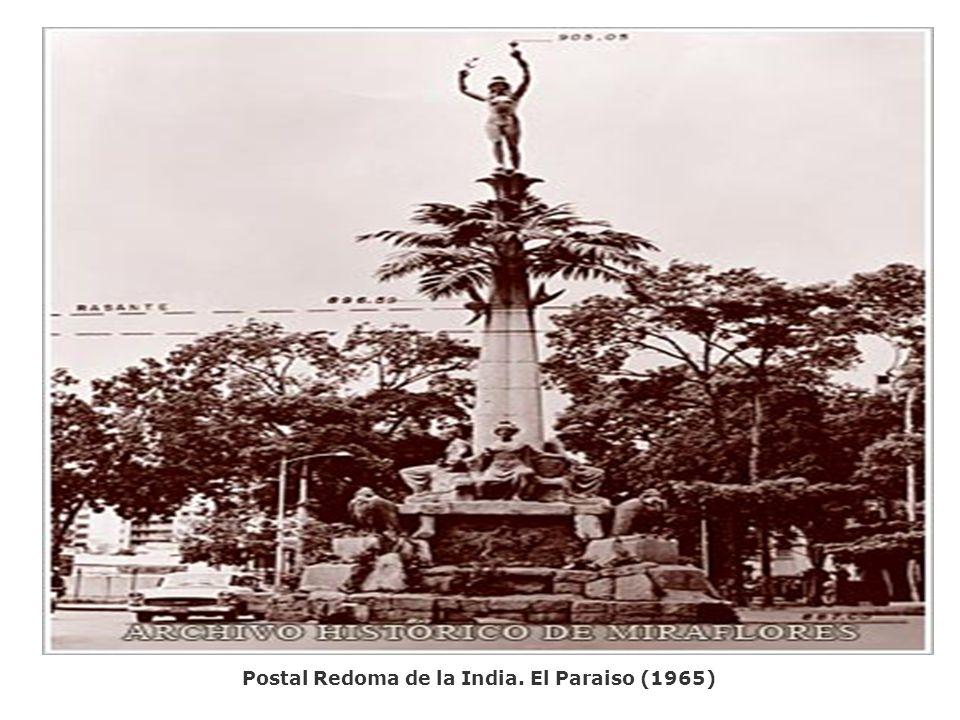 Postal Redoma de la India. El Paraiso (1965)