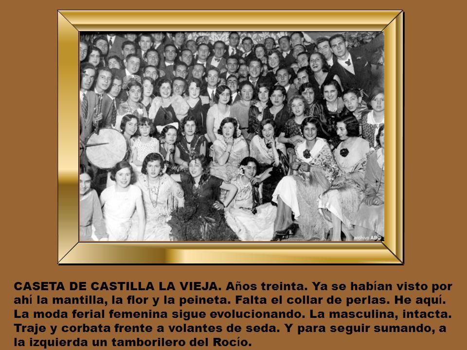 CASETA DE CASTILLA LA VIEJA. Años treinta