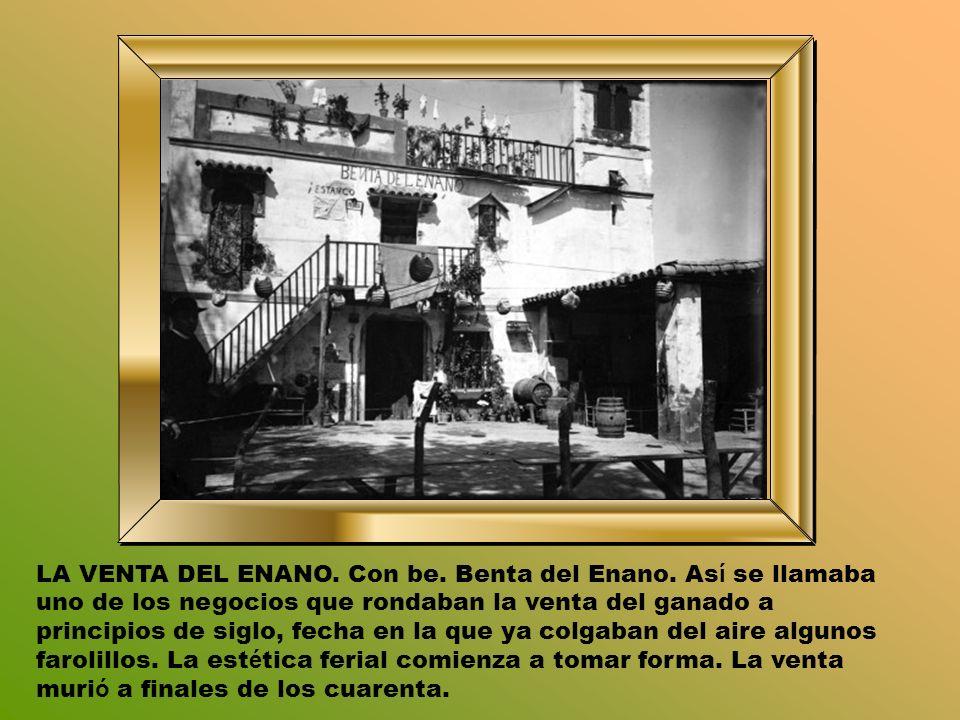 LA VENTA DEL ENANO. Con be. Benta del Enano