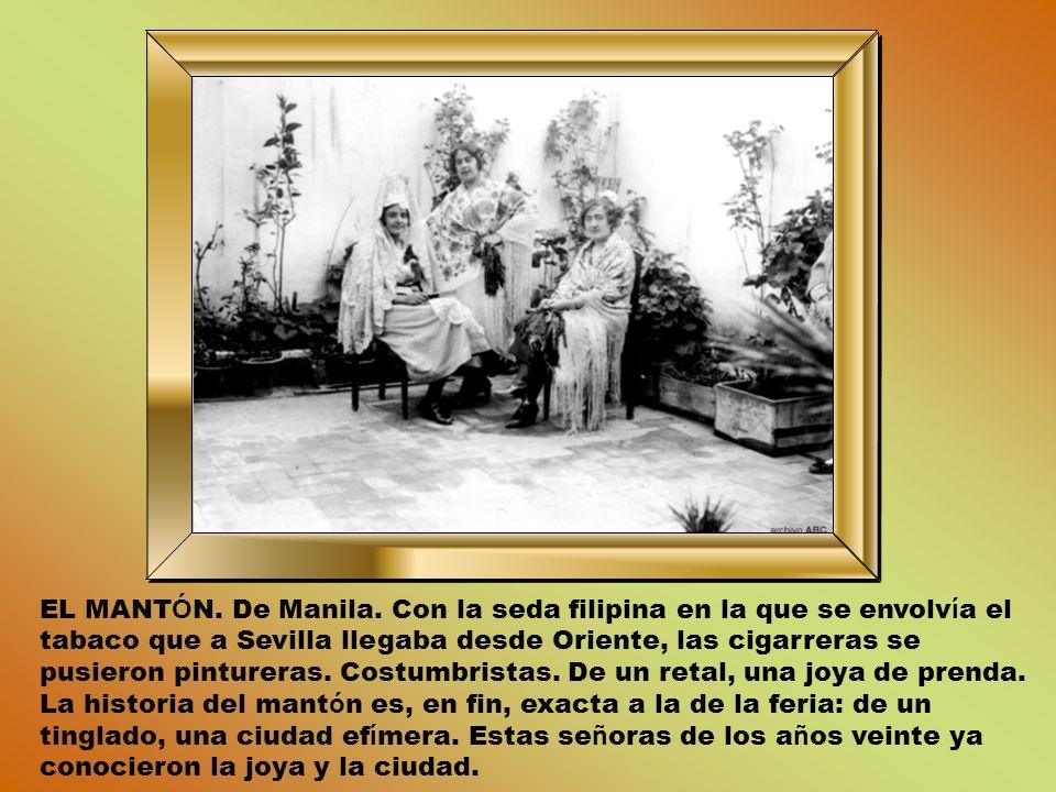 EL MANTÓN. De Manila.