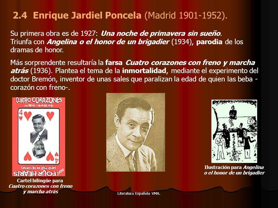 2.4 Enrique Jardiel Poncela (Madrid 1901-1952).