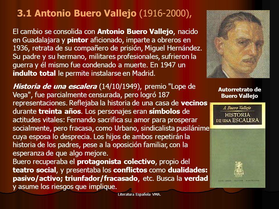 3.1 Antonio Buero Vallejo (1916-2000),