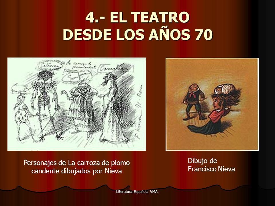4.- EL TEATRO DESDE LOS AÑOS 70