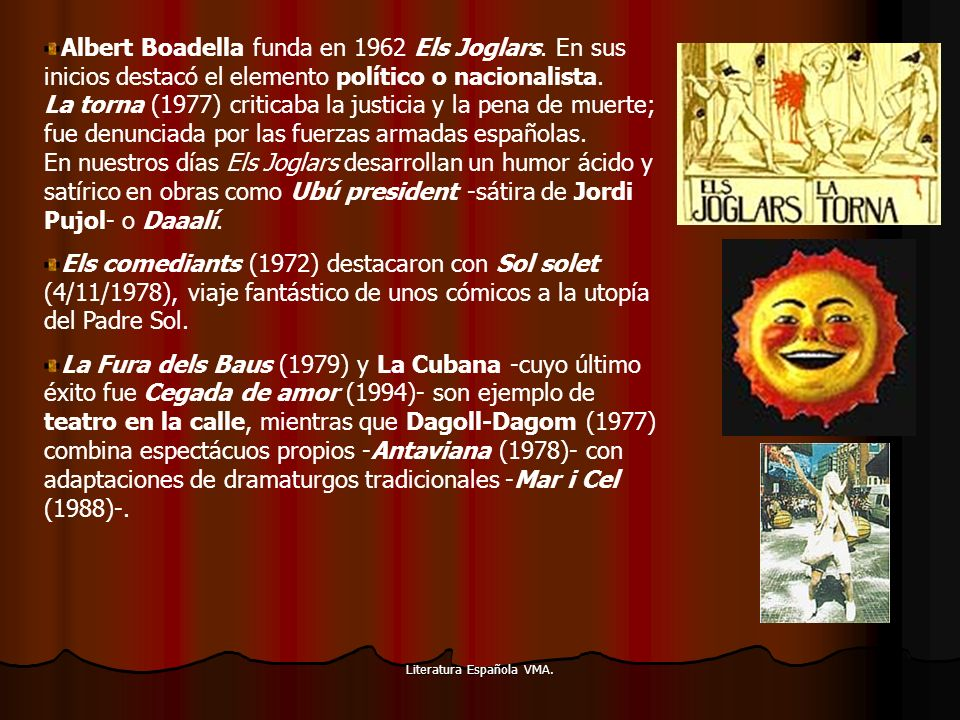 Literatura Española VMA.