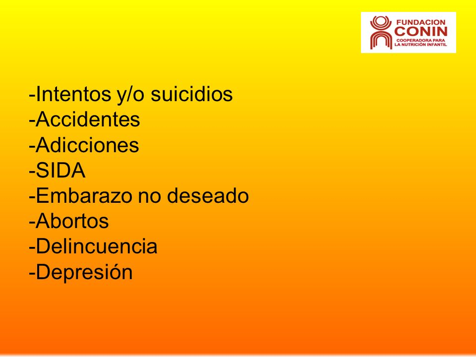 -Intentos y/o suicidios