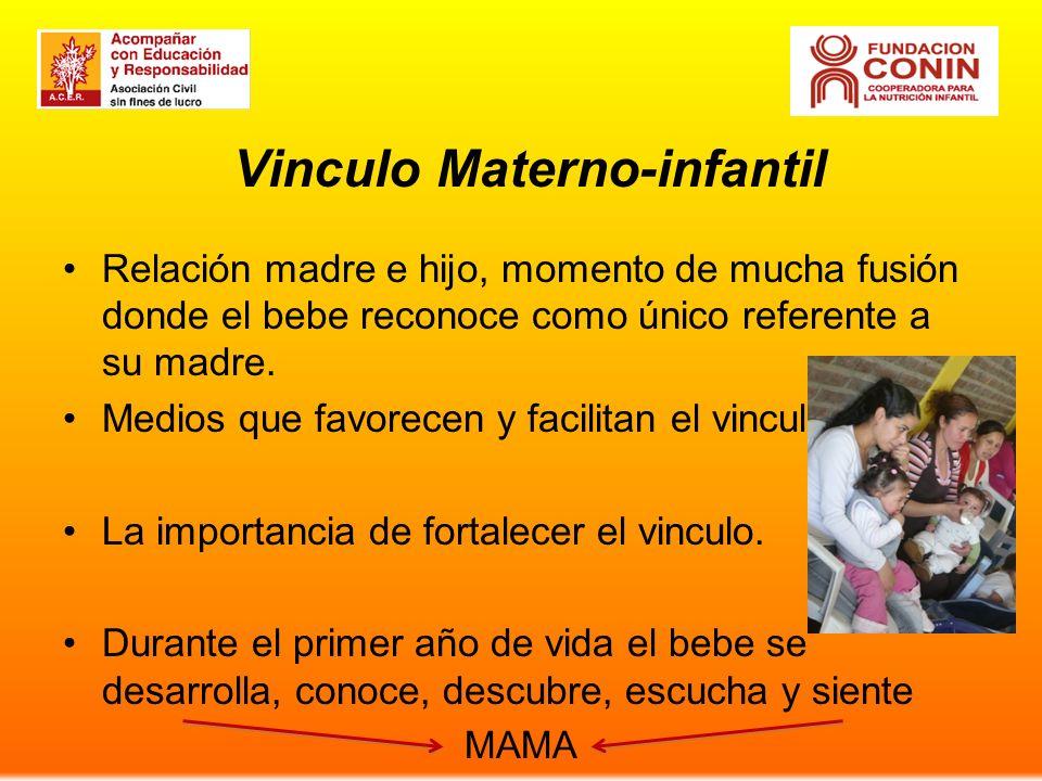 Vinculo Materno-infantil