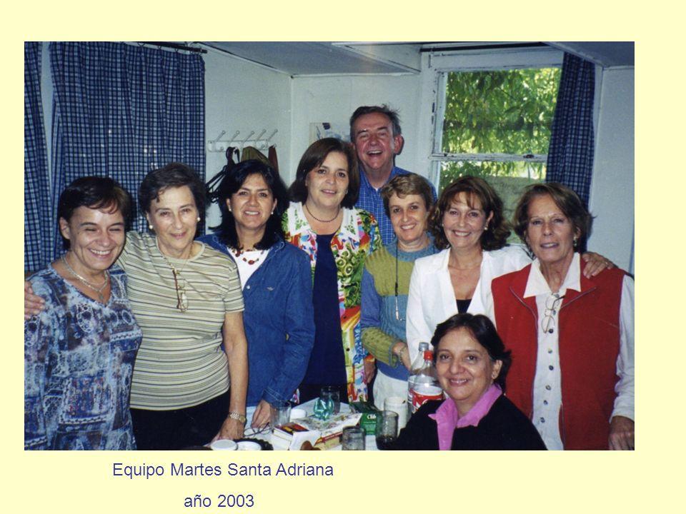 Equipo Martes Santa Adriana