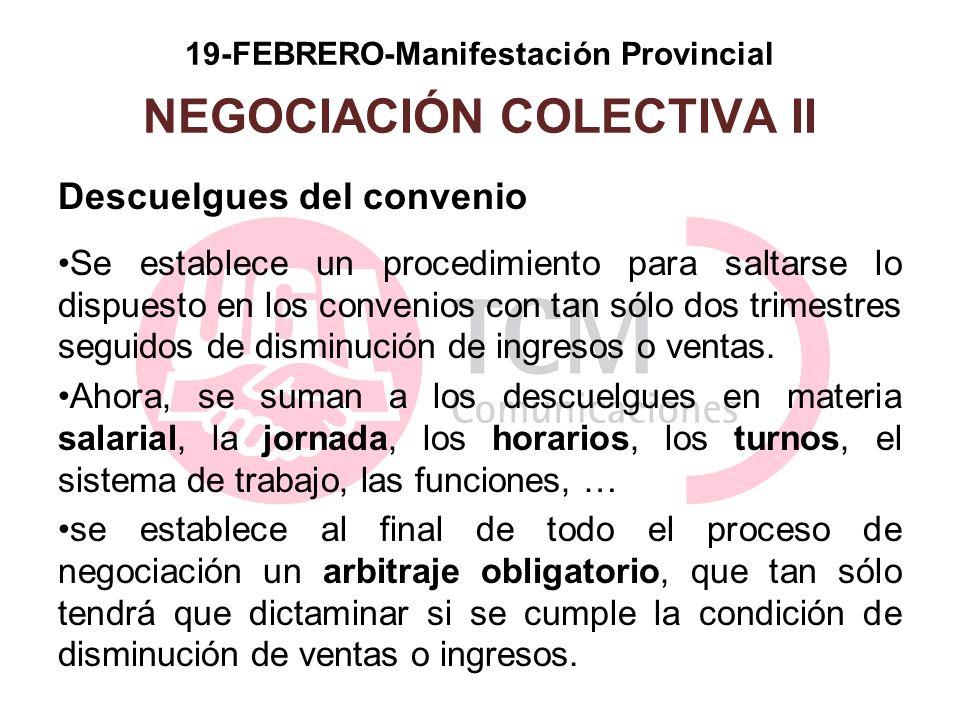 19-FEBRERO-Manifestación Provincial NEGOCIACIÓN COLECTIVA II
