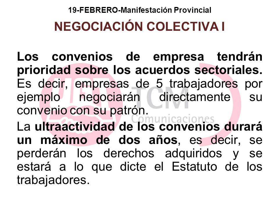 19-FEBRERO-Manifestación Provincial NEGOCIACIÓN COLECTIVA I