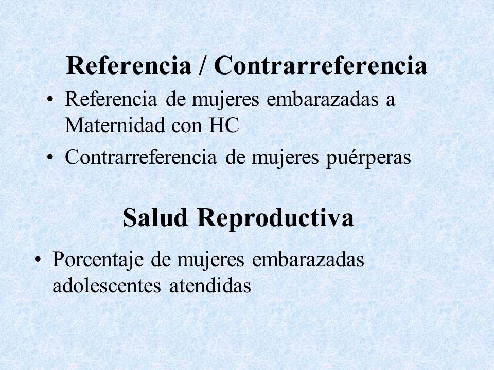 Referencia / Contrarreferencia