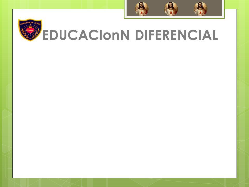 EDUCACIonN DIFERENCIAL