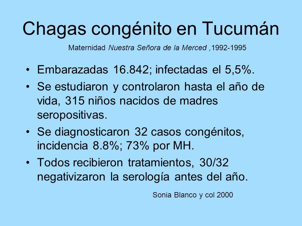 Chagas congénito en Tucumán