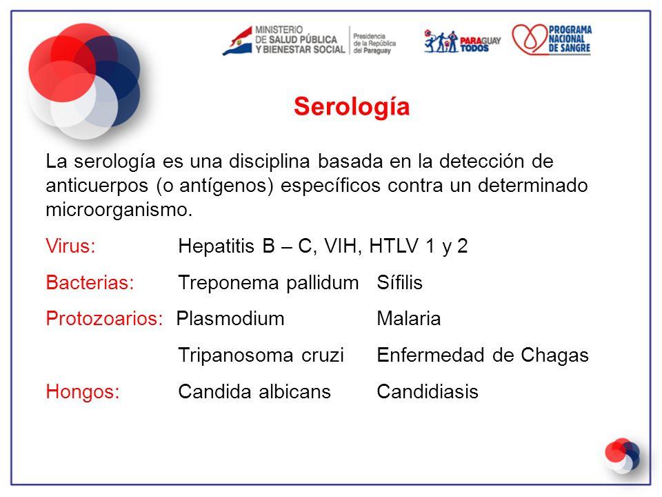 Serología La serología es una disciplina basada en la detección de anticuerpos (o antígenos) específicos contra un determinado microorganismo.