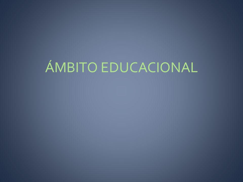 ÁMBITO EDUCACIONAL