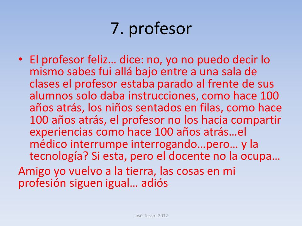 7. profesor