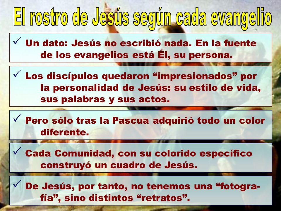 El rostro de Jesús según cada evangelio